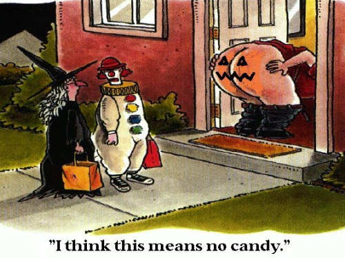 Dirty Halloween Jokes