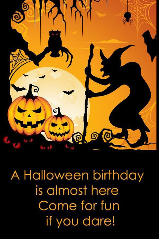 Halloween Birthday Quotes