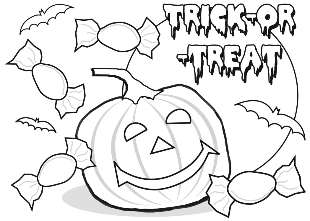 Halloween Images To Draw