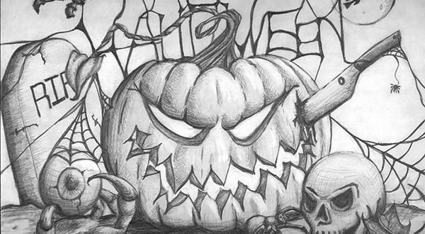 Halloween Pictures To Draw